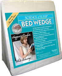 brookstone bed wedge pillow jobri spine reliever bed wedge reviews wayfair
