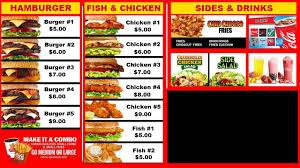 digital signage sample restaurant digital menu board with video