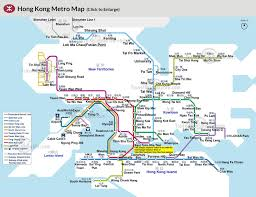 Metro Rail Map by Hong Kong Airport Transfer Map Star Ferry Routes Map