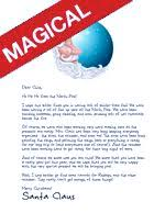 official letterhead of the north pole great for letters from