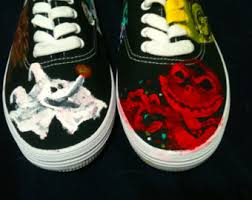 oogie boogie shoes etsy