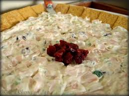 thanksgiving smoked turkey recipe with a cherry on top smoked turkey dip with cranberries