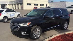 chevrolet traverse 2018 chevrolet traverse high country mosaic black metallic roy
