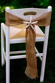 diy chair sashes diy july burlap chair sash raspberry creative