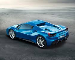ferrari back view wallpaper 2016 ferrari 488 spider luxury light blue cars 1280x1024