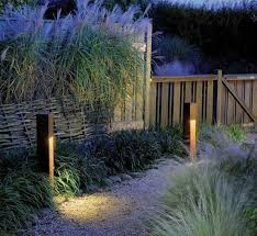 Focus Led Landscape Lighting Focus Pl 23dm 18brs 18 Square Modern Brass Bollard Pathway Led