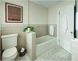 bathroom alcove ideas toilet to tub with half wall alcove bathtub bathroom