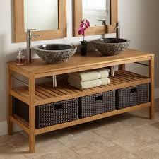 Teak Bathroom Storage Teak Bathroom Vanity Top Inspiration Home Designs Amazing