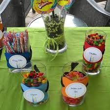 Candy Themed Party Decorations Surprise 30th Birthday Party For Michael U003cbr U003e