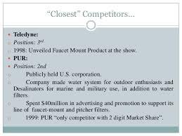 Pur Vs Brita Faucet Water Filter The Brita Product Company