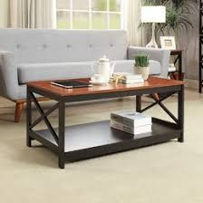 Coffee Tables Youll Love Wayfair - Table and chairs for living room