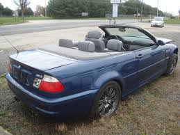 Bmw M3 Convertible - 2002 bmw m3 convertible salvage rebuildable for sale