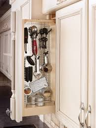 6 inch upper cabinet love this idea so much better than stuff thrown in a drawer
