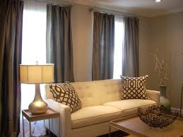 long living room curtains latest dark brown curtains living room ideas with dark tan living