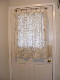 curtain for half door decorate the house with beautiful curtains