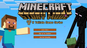 minecraft story mode confirmed ps4 ps3 release date tba youtube