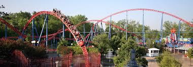 Six Flags Agawam Coastersandmore De Achterbahn Magazin Superman Ride Of Steel