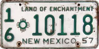 variations and varieties of new mexico license plates
