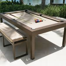 Dining Table Pool Table Destroybmxcom - Pool tables used as dining room tables