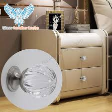 wholesale cabinet knobs fashion clear glass cabinet handles and