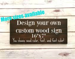 custom sign etsy