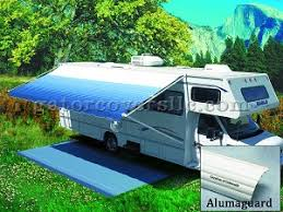 Trailer Awning 18 Foot Fiesta Armored Vinyl Patio Rv Awning
