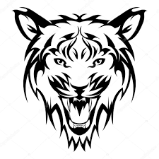 beautiful tiger vector tiger s as a design element on