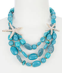 jewelry necklace turquoise images Women 39 s statement necklaces dillards jpg