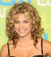 medium length haircuts curly hair layered hairs picture gallery