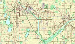 Map Of Minneapolis Bikeverywhere Twin Cities Bike Map