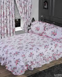 elizabeth purple king size bed duvet quilt cover set by the