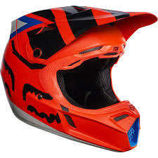 kids motocross gear closeouts fox racing youth v3 creo helmet helmets dirt bike closeout