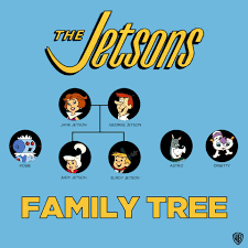 the jetsons the jetsons family tree cartoon pinterest family trees and
