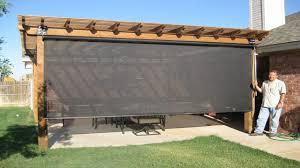 ideas for patios pergola enclosure ideas patio sun shades roll up outdoor patio sun
