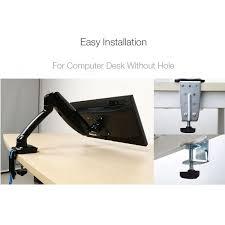 Monitor Stands For Desks Loctek Store Loctek Desk Monitor Mount W Usb Port D5u
