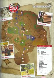 twilight princess map capital maps of hyrule