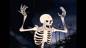 spooky scary skeletons remix with gifs youtube
