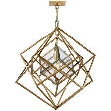 kelly wearstler cubist chandelier small trellis home