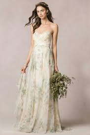floral print bridesmaid dress wedding dresses gowns in pretty floral prints inside weddings