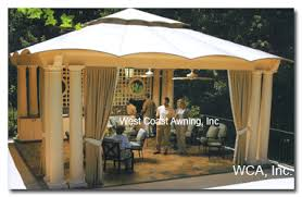 Gazebo With Awning Awnings Patio Covers Retractable Awnings Roller Shades Gazebos