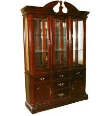 black friday bassett furniture bassett furniture chippendale style china cabinet ebth
