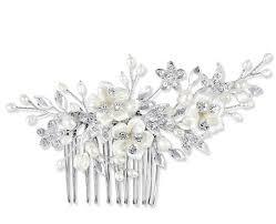 wedding hair comb petal wedding hair comb starbox jewellery weddings
