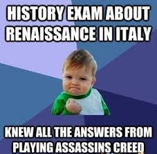 Video Games Memes - assassins creed to the rescue gaming memes videogames and memes