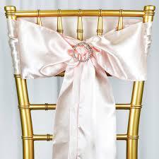 wedding bows for chairs 5pc x satin blush chair sash tablecloths factory