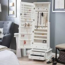 Tall Jewelry Armoire Buy Jewelry Armoire Foter