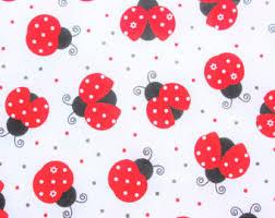 ladybug wrapping paper ladybug fabric etsy