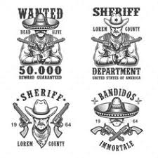 vector sheriff badge star set badges font logo and fonts
