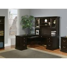 L Shaped Desk With Drawers Kathy Ireland Home By Martin Fl684l Fl684l R Fulton Left Hand