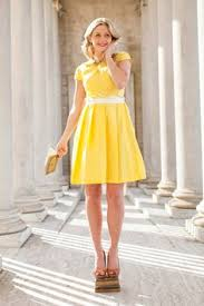 yellow west end dress from the bridesmaid collection by shabby