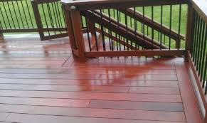 deck woods and deck refinishing